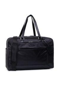 Czarna torba na laptopa Gino Rossi