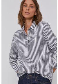 Levi's® - Levi's - Koszula bawełniana. Okazja: na co dzień, na spotkanie biznesowe. Kolor: szary. Materiał: bawełna. Styl: biznesowy, casual