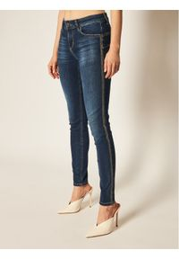 Niebieskie jeansy slim Liu Jo