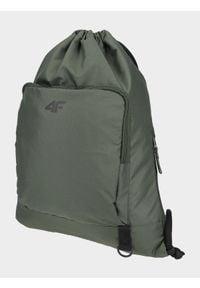 4f - Plecak - worek. Kolor: brązowy, wielokolorowy, oliwkowy