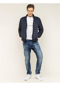 Niebieska kurtka puchowa Geox #6