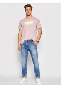 Pepe Jeans Jeansy Jamey PM205896 Niebieski Taper Fit. Kolor: niebieski