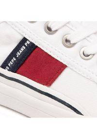 Pepe Jeans Tenisówki Ottis Boy PBS30476 Biały. Kolor: biały #5