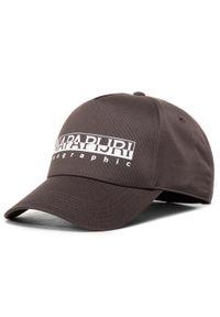 Brązowa czapka Napapijri
