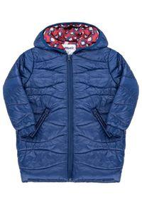 Niebieska kurtka Primigi na zimę