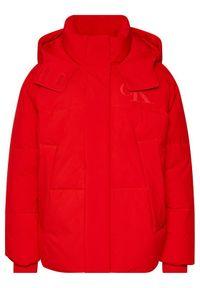 Czerwona kurtka zimowa Calvin Klein Jeans