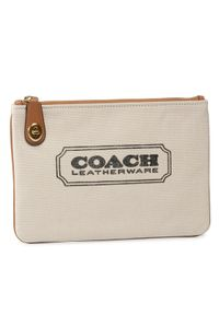 Beżowa kopertówka Coach