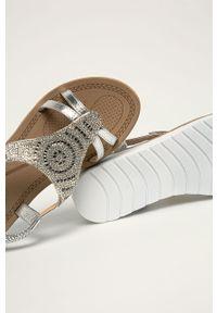 Srebrne sandały Truffle Collection