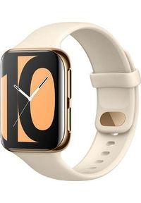 OPPO - Smartwatch Oppo Watch 46mm NFC Beżowy (OW19W8G). Rodzaj zegarka: smartwatch. Kolor: beżowy