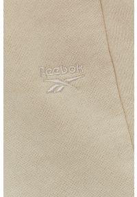 Spodnie dresowe Reebok Classic gładkie