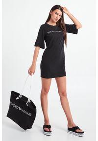 Emporio Armani Swimwear - TOREBKA EMPORIO ARMANI SWIMWEAR. Wzór: napisy