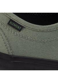 Element - Tenisówki ELEMENT - Passiph S6PAS1-01A-4127 Surplus Black. Okazja: na co dzień. Kolor: zielony. Materiał: materiał. Szerokość cholewki: normalna. Styl: casual, klasyczny
