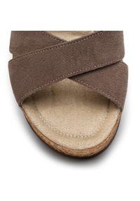 Brązowe sandały Ann Mex na co dzień, casualowe