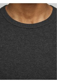 Jack & Jones - Jack&Jones Sweter Basic 12137190 Szary Regular Fit. Kolor: szary #5