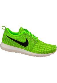Zielone sneakersy Nike z cholewką