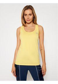 Liu Jo Sport Top TA1093 J5003 Żółty Regular Fit. Kolor: żółty. Styl: sportowy