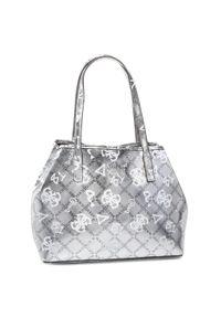 Srebrna torebka klasyczna Guess klasyczna