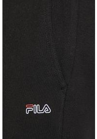 Czarne spodnie dresowe Fila melanż #4