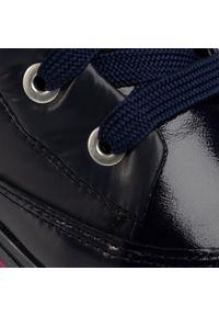 Niebieskie buty zimowe Bartek z cholewką, na spacer