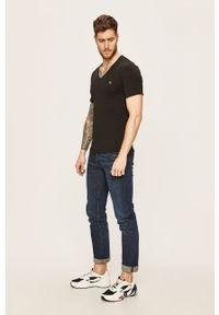Czarny t-shirt Calvin Klein Underwear casualowy, na co dzień
