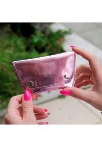 Różowy portfel FELICE
