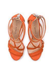 Pomarańczowe sandały Eva Minge