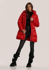 Czerwona kurtka pikowana Renee