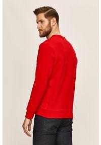 Czerwona bluza Russell Athletic na co dzień, casualowa