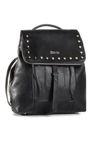 Big-Star - Plecak BIG STAR - GG574160 Czarny. Kolor: czarny. Materiał: skóra