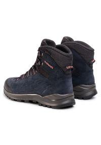 Niebieskie buty trekkingowe Lowa Gore-Tex, trekkingowe