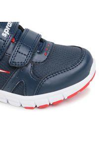 Sprandi - Sneakersy SPRANDI - CP72-21015 Navy. Okazja: na spacer. Zapięcie: rzepy. Kolor: niebieski. Materiał: skóra ekologiczna, materiał. Szerokość cholewki: normalna