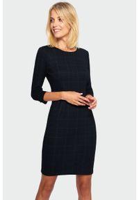 Greenpoint - Sukienka ołówkowa w kratę. Typ sukienki: ołówkowe