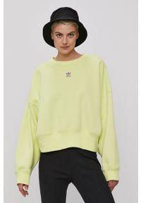 adidas Originals - Bluza. Kolor: żółty