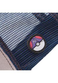CapsLab - Czapka z daszkiem CAPSLAB - Freegun Pokemon CL/PKM2/1/MEW1 Kolorowy Szary. Kolor: szary. Materiał: materiał, bawełna, poliester. Wzór: kolorowy