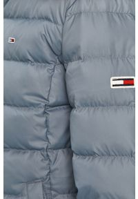 Niebieska kurtka Tommy Jeans z kapturem