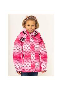 Różowa kurtka narciarska Reima
