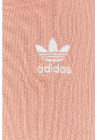 adidas Originals - Bluza. Okazja: na co dzień. Kolor: różowy. Materiał: bawełna. Długość rękawa: długi rękaw. Długość: długie. Wzór: aplikacja. Styl: casual