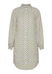 Sukienka koszulowa Tory Burch w kolorowe wzory
