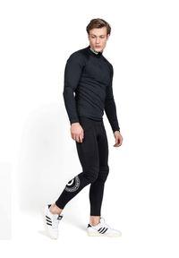 ROBERT KUPISZ - Czarna bluza ACTIVE MOVE. Kolor: czarny. Materiał: materiał. Długość rękawa: długi rękaw. Długość: długie