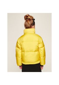 Żółta kurtka Guess na zimę #5