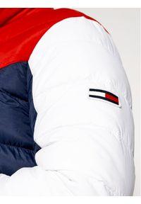 Kurtka puchowa Tommy Jeans w kolorowe wzory