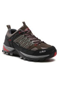 CMP Trekkingi Rigel Low Trekking Shoe Wp 3Q54457 Zielony. Kolor: zielony. Sport: turystyka piesza