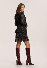 Renee - Czarna Sukienka Nemora. Kolor: czarny