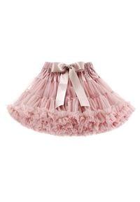 LaVashka Spódnica 10 M Różowy Regular Fit. Kolor: różowy