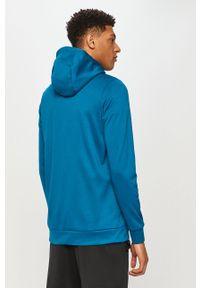Niebieska bluza rozpinana Nike z kapturem, casualowa, na co dzień #5