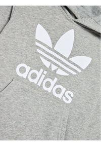 Szara bluza sportowa Adidas