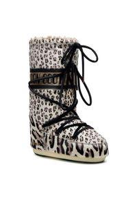 Beżowe śniegowce Moon Boot