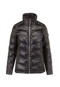 Descente - Kurtka DESCENTE EMMA. Materiał: nylon, jeans, materiał, tkanina, włókno. Technologia: Thinsulate. Sezon: zima
