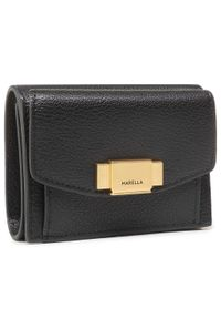 Czarny portfel Marella