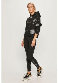 Czarna bluza Calvin Klein Jeans z kapturem
